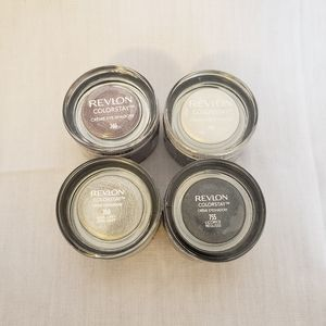 Revlon Creme Eyeshadow Lot - 4 Shimmer Colors
